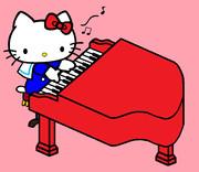 キティ ~ピアノのおけいこ~ 【完成♪】