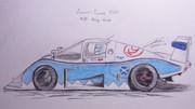 東方レーシング2012 エキュリー・エコッセC286/フォード '86 「チームバカルテット」