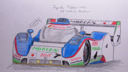東方レーシング2012 トヨタ・TS010 「チーム守矢組」