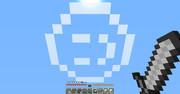 【Minecraft】空に「:)」