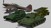 ロシアセット 01