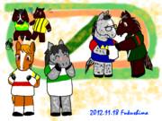 """福島へ集え?往年の""""語り馬""""達w"""