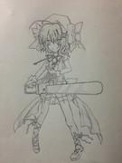 オレの友人が描いたハルナ