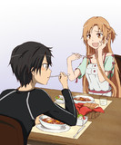 美味しそうに食べてる顔見るのすごく好き。