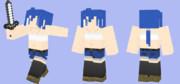 涼子さんがMinecraftで冒険するようです【Minecraft スキン】