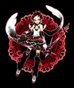 弓装備魔法少女