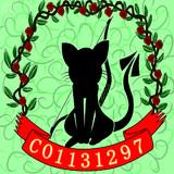 弓を射る三毛猫の集会場 シンボル画更新