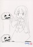 ハロウィン姫様(線画)