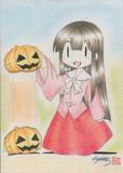 ハロウィン姫様(色付き)