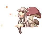 ( '.')<キノコ...