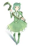 緑柱の魔法少女