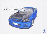 R34 SKYLINE 25GT-T イーストベアーフルエアロ
