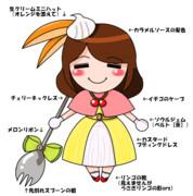 プリン・ア・ラ・モードの魔法少女