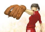 草野球女子