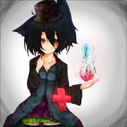 黒猫の少女