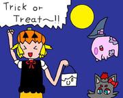 ハロウィンだよお!