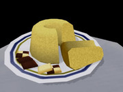 甘い甘いお菓子はシフォンケーキ