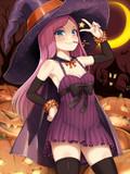 ハロウィン魔女っ子