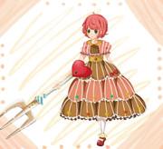 お菓子の国の魔法少女