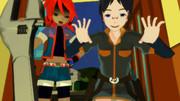 【MMD】ニコ技のハロウィン2012【キキ&ニア】
