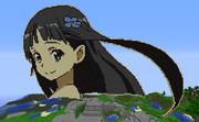 【Minecraft】ソードアート・オンラインよりピクシー・ユイ【ドット絵】