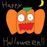 かぼちゃお化け 描いてみた