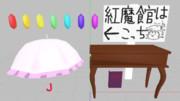 日傘とか机とか本とか