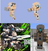 【Minecraft】BORDER BREAKスキン