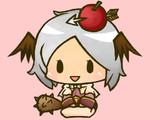 鈴どっぺる矢リンゴと悪魔の羽耳装備