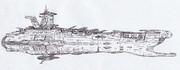 宇宙戦闘空母レッドマーズ「自作艦」