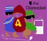 『アルビン/歌うシマリス3兄弟』iPod風