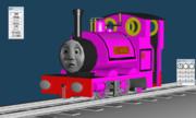 爆笑!ピンク色のわがまま機関車!