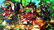 【和風っぽく】イエモンさん描いてみた【極彩色】