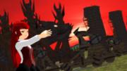 【MMDファンタジー】攻城兵器モデルお披露目【豊穣祭】