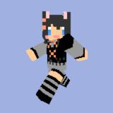 【Minecraft】黒猫ちゃん【オリジナルスキン】