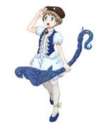 青い鳥の魔法少女