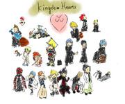 KINGDOMHEARTSのきゃら描いてみた