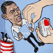 オバマさん勝利宣言