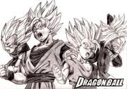 DRAGON BALL スーパーサイヤ人