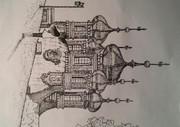 ロシアのお寺を観てる
