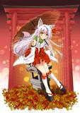 妖狐ツツジ ~オレンジの雨~