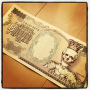 ONE PIECE 10000ベリー紙幣