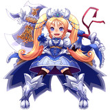 戦斧の魔法少女