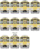 MSペイントで西武新2000系更新車描いてみたぉ(^ω^)⊇