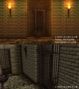 【MMD】地下牢【ステージ配布】