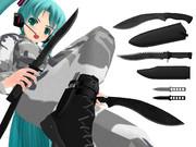 ナイフ3種類