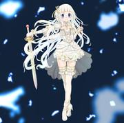 白い魔法少女