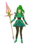 新緑の魔法少女