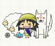【リクエスト】 ガボ&アマテラス