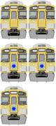 MSペイントで西武9000系描いたぉ(^ω^)⊇